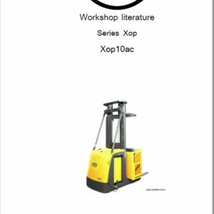 OM Pimespo XOP10 and XOP10ac Series XOP Lift Workshop Repair Manual