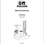 OM PIMESPO Four D Series X049 Workshop Repair Manual