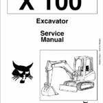 Bobcat X100 Excavator Service Manual