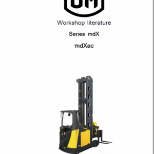 OM PIMESPO mdXac Series mdX Workshop Repair Manual