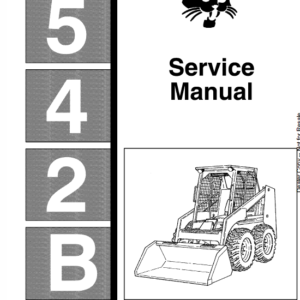 Bobcat 542b Skid-Steer Loader manual