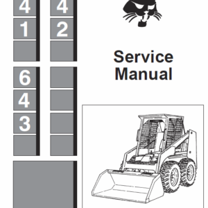 Bobcat 641, 642 and 643 Skid-Steer Loader manual