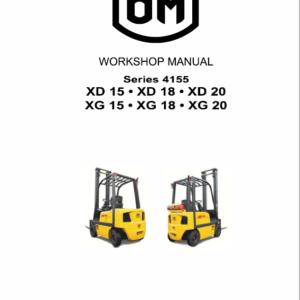 OM Pimespo XG15, XG18 and XG20 Forklift Repair Workshop Manual