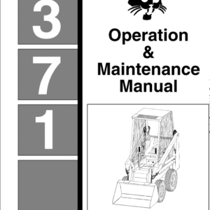 Bobcat 371 Skid-Steer Loader Service Manual