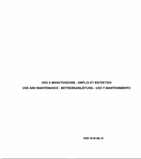 OM Pimespo Fase 18-20-20L-22-25-28-30 80v Forklift Workshop Repair Manual