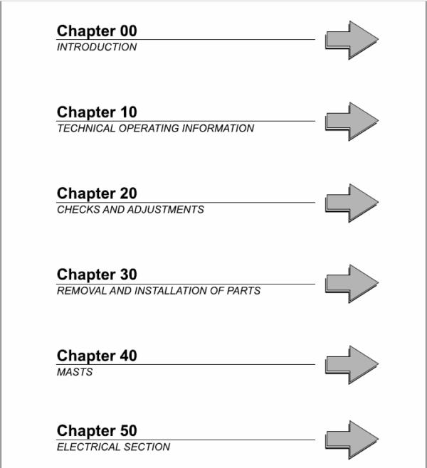 OM Pimespo E20ac, E20Lac, E25ac, E30ac Series 4022 and 4023 Workshop Manual