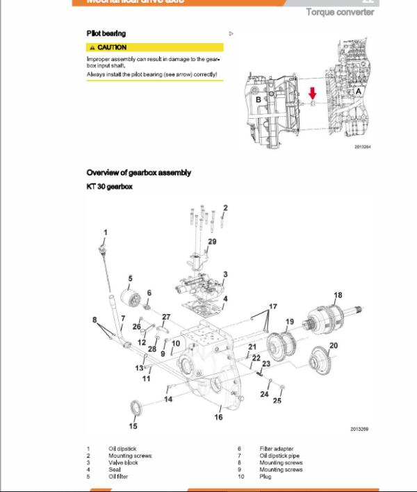 Still Diesel LPG Forklift Trucks RC40: RC40-25, RC40-30, RC40-35 Workshop Manual
