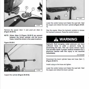 Bobcat 316 Excavator Service Manual