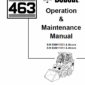 Bobcat 463 Skid-Steer Loader Service Manual