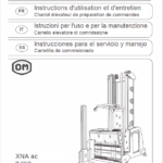 OM Pimespo XNA ac – Generation 1.2 80v Side Loader Workshop Repair Manual