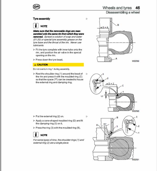 OM Pimespo XD15, XD18 and XD20 Forklift Repair Workshop Manual