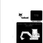Bobcat X220 Excavator Service Manual