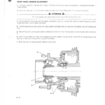 OM Pimespo DI50CH, DI60C, DI70C and DI80C Forklift Workshop Manual