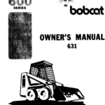 Bobcat 630, 631 and 632 Skid-Steer Loader Service Manual