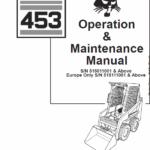 Bobcat 450 and 453 Skid-Steer Loader Service Manual
