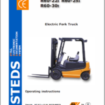 Still Electric Fork Truck R60: R60-22 R60-25 R60-30, R60-35 R60-40 R60-45 R60-50 Workshop Manual