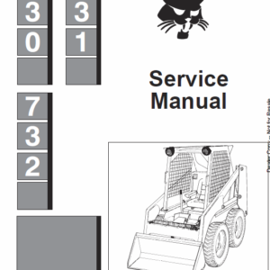 Bobcat 730, 731 and 732 Skid-Steer Loader Manual