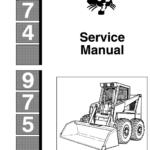 Bobcat 974 and 975 Loader Service Manual