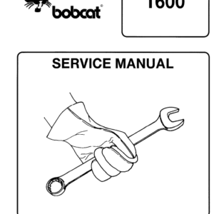Bobcat 1600 loader manual