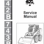 Bobcat 742b and 743b Skid-Steer Loader manual