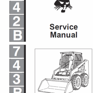 Bobcat 742b and 743b Skid-Steer Loader manual