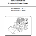 Bobcat A300 Skid-Steer Loader Service Manual