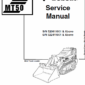 Manual for Bobcat MT50 mini loader