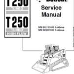 Bobcat T250 Turbo and Turbo High Flow Track Loader Service Manual