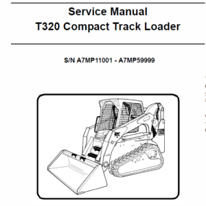 Bobcat T320 Loader Service Manual