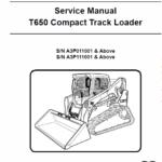 Bobcat T650 Loader Service Manual