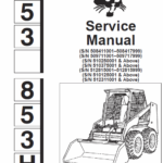 Bobcat 853 and 853H Skid-Steer Loader Manual