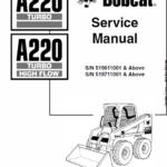 Bobcat A220 Skid-Steer Loader Service Manual