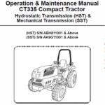 Bobcat CT335 Compact Tractor Service Manual