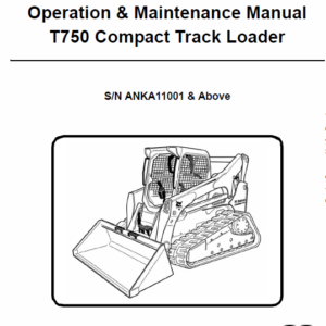 Bobcat T750 Loader Service Manual