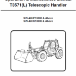 Bobcat T3571 and T3571L Telescopic Handler Service Manual