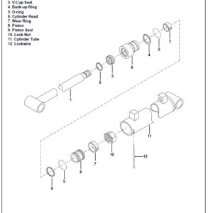 Bobcat 6TB, 7TB, 8TB Backhoe Tractor Service Manual
