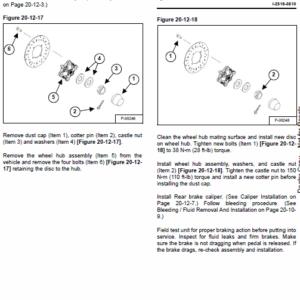 Bobcat 3450 Utility Vehicle Service Manual