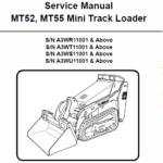 Manual for Bobcat MT52 mini loader and MT55 mini Loader