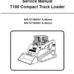 Manual for Bobcat T180 loader