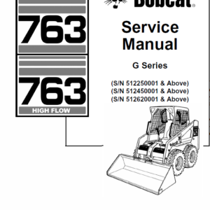 Bobcat 763 G-Series manual
