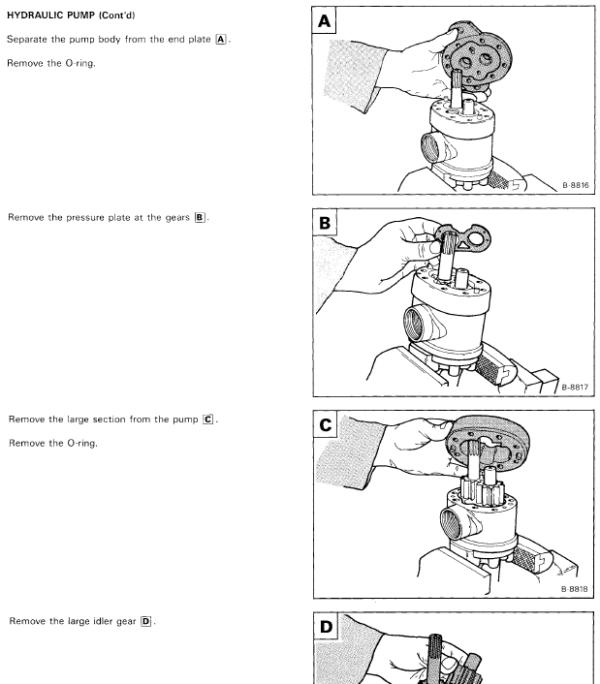 Bobcat 1213 Skid-Steer Loader Service Manual
