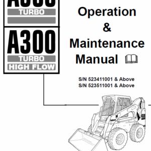 Bobcat A300 Skid-Steer Loader Service Manual