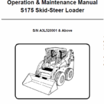 Bobcat S175 Skid-Steer Loader Service Manual