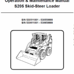 Bobcat S205 Skid-Steer Loader Service Manual