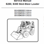 Bobcat S250 and S300 Skid-Steer Loader Service Manual
