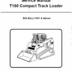 Bobcat T180 Compact Loader Service Manual