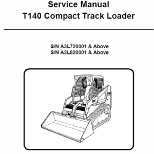 Bobcat T140 Compact Loader Service Manual