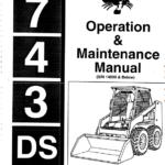 Bobcat 741, 742 and 743 Skid-Steer Loader Service Manual
