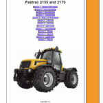 JCB 2155, 2170 Fastrac Service Manual