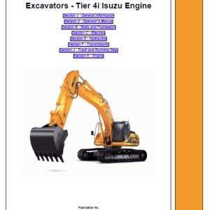 Jcb Js300, Js330, Js370 Tracked Excavator Service Manual